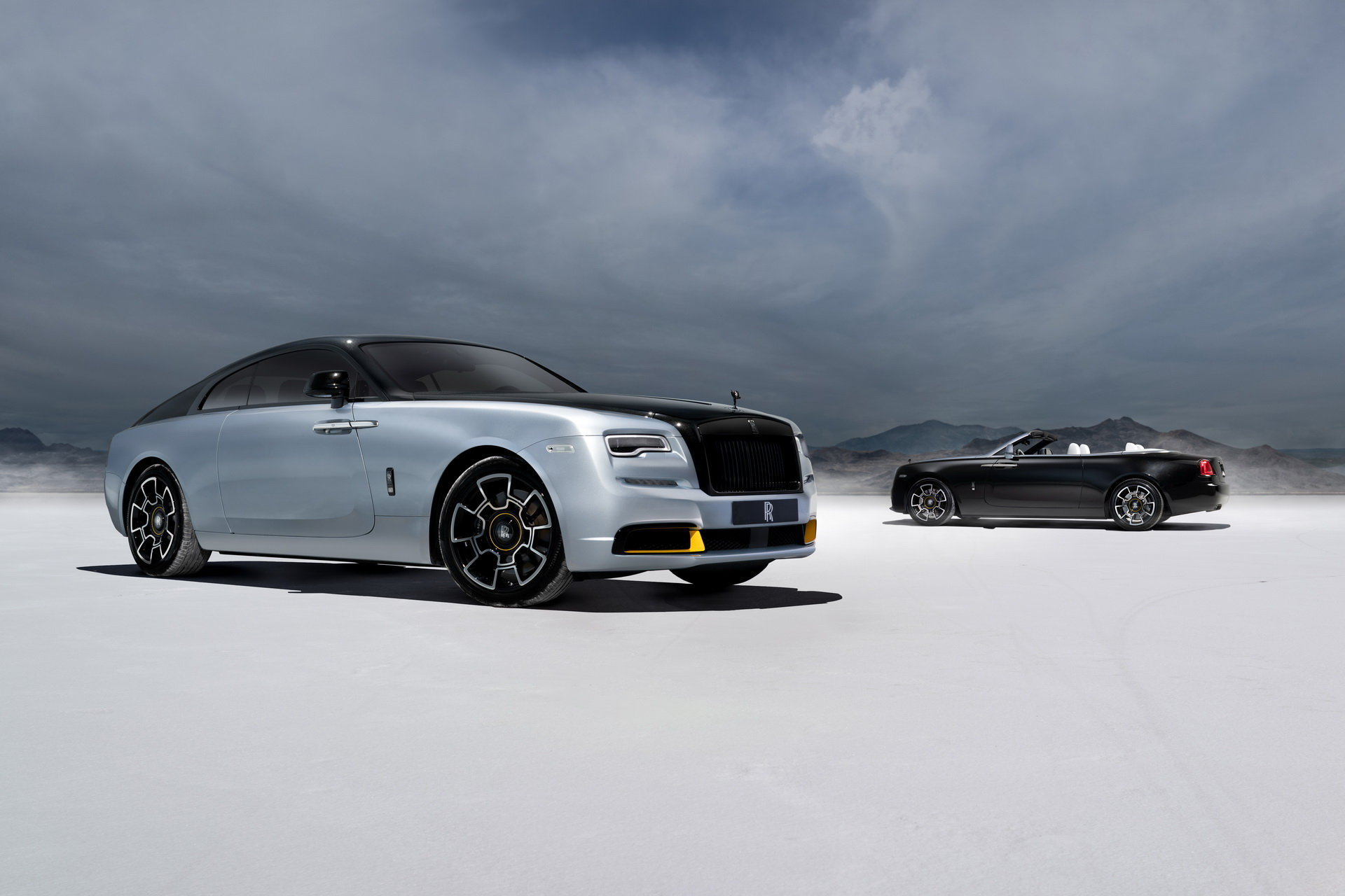 Rolls-Royce New Wraith And Dawn Black Badge Honors Record Holder